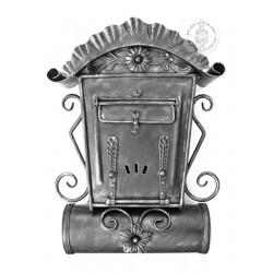 Poštová schránka SCH4 - strieborná patina