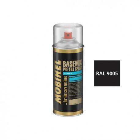 Sprej - čierna farba na zinok 400 ml